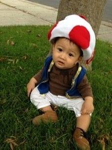 Baby Pierce's First Halloween
