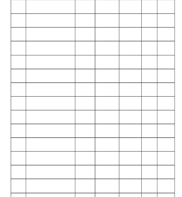 Daily Expenses Worksheet Printable