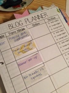 Blog Posts Planner – Free Printable