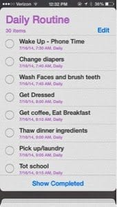 How To Get A Scheduled Routine Going for Stay at Home Moms Plus Tips &  a Routine Template Download