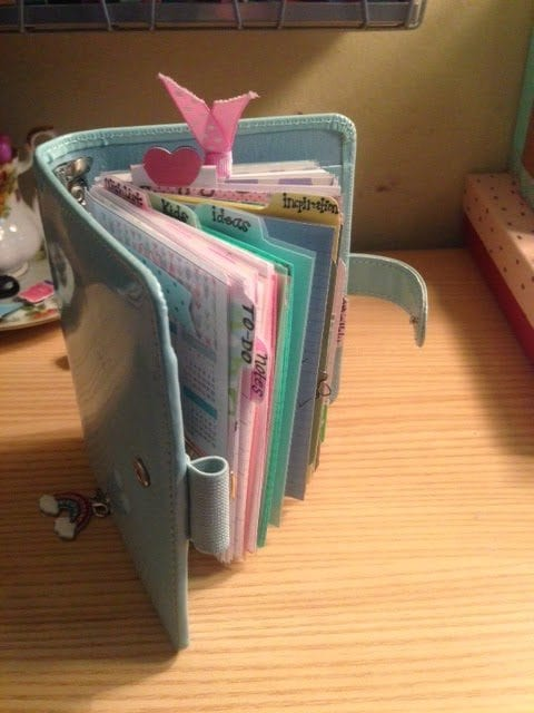 My Pocket Filofax Setup Video