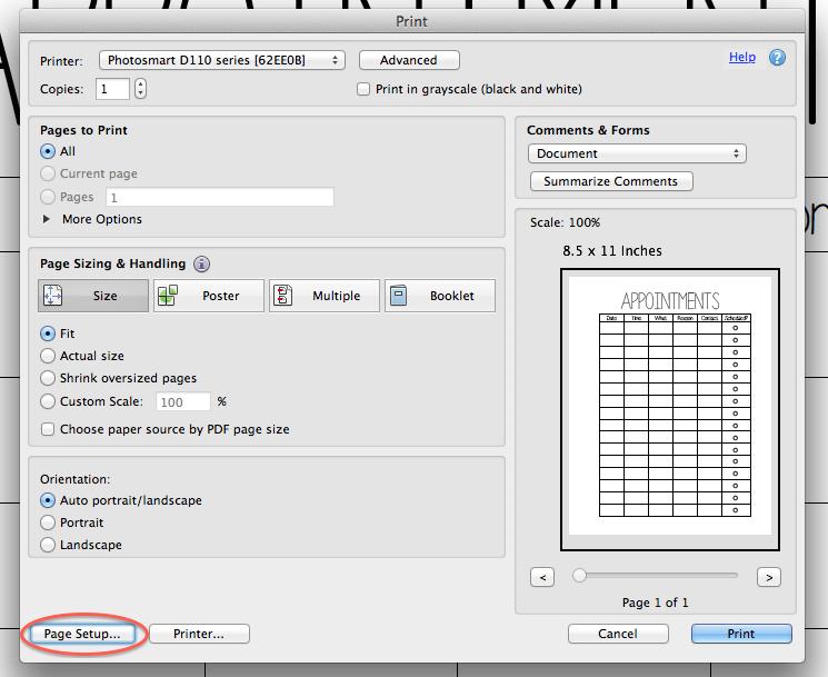 Filofax App For Mac