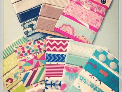How to Make Washi Card Samples