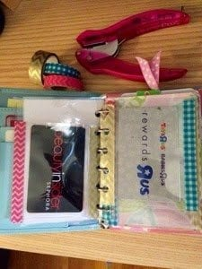 How To Make DIY Card Holders For Your Pocket Filofax