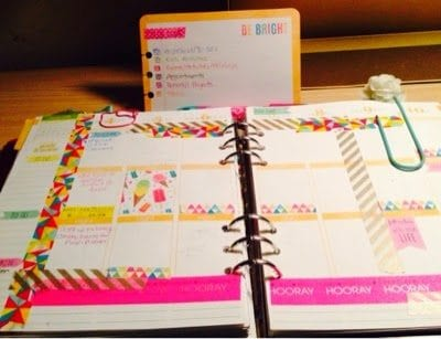 Color-Coding in my Erin Condren/Kikki-K Planner and a New Way to UseWeekly Squares!