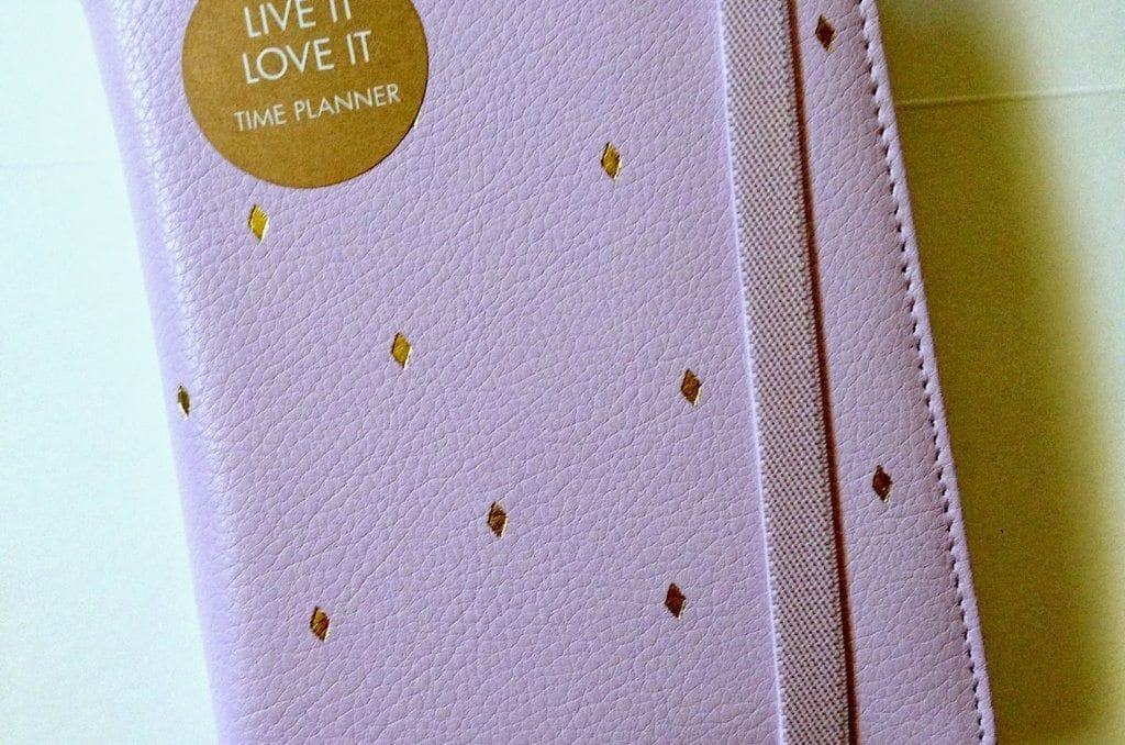 My Kikki-K Lilac Small Time Planner Review