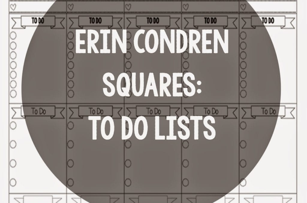 EC Squares: Banner To Do Lists