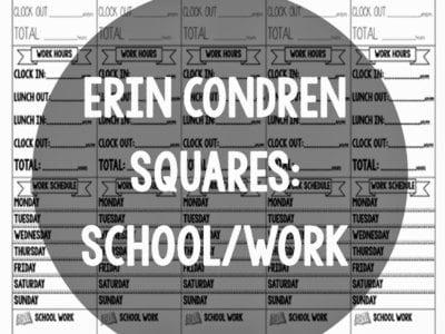 EC Squares: School & Work