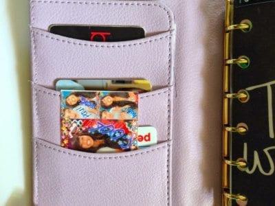 My Wallet/Budget Setup in my Small Kikki-K Planner