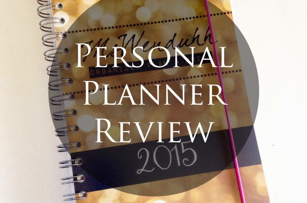 Personal-Planner Review: Design Your Own Planner Inside & Out!