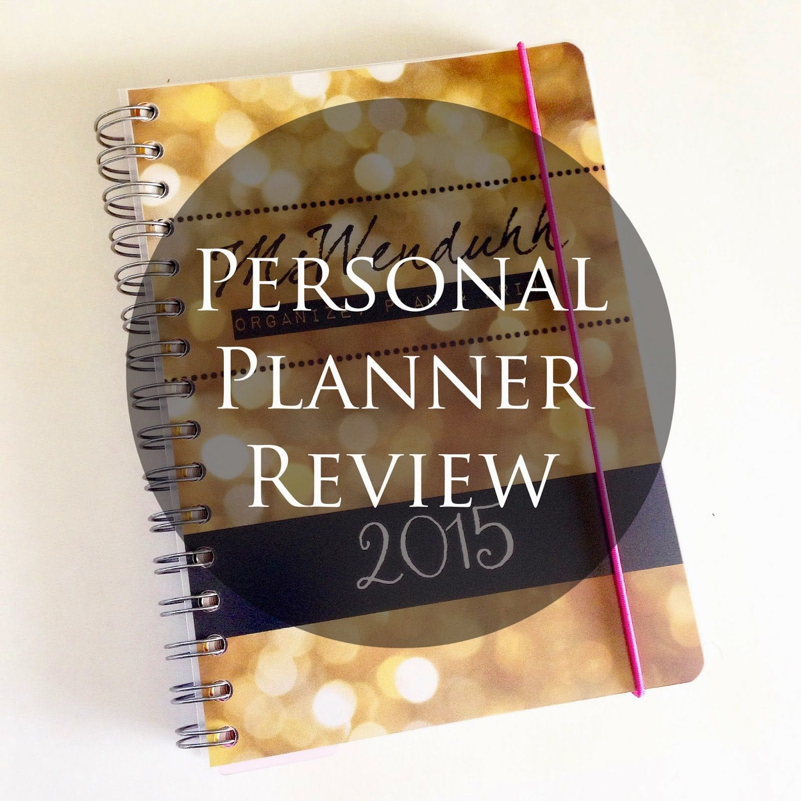 Personal Planner Review Design Your Own Planner Inside
