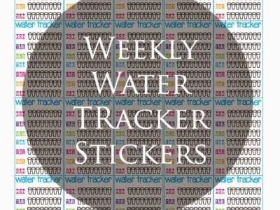 Weekly Water Tracker Stickers