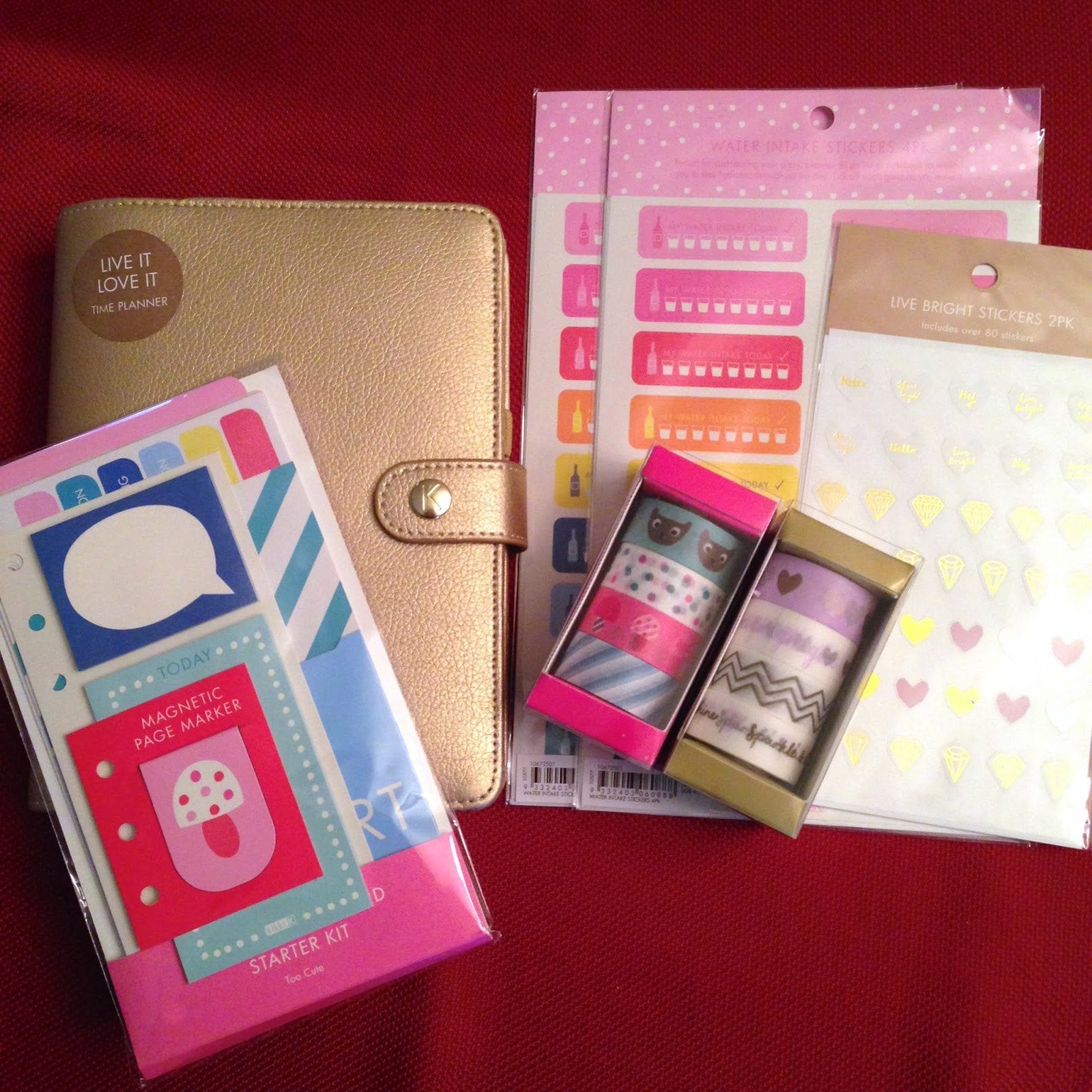 Kikki k haul a look inside of the gold time planner for What is a planner dashboard
