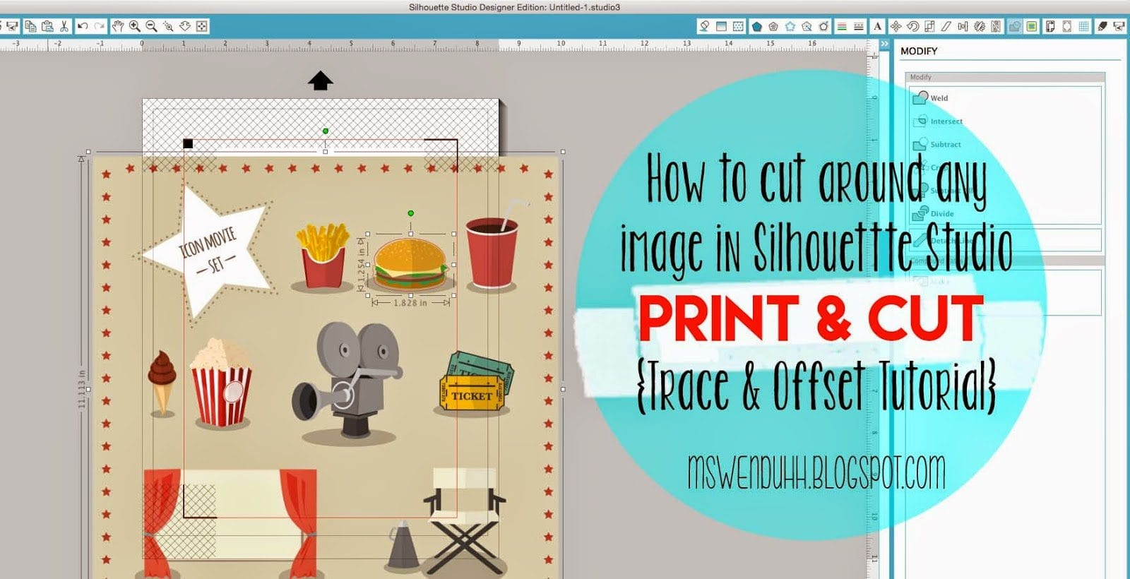 How to Make Stickers from any Image with your Silhouette Machine