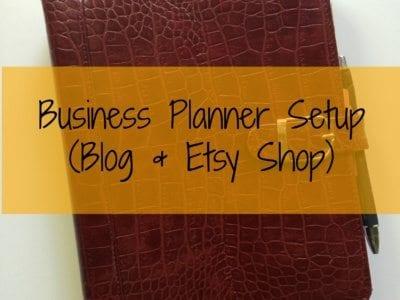 My Business Planner Setup (feat. Plum Paper Planner)