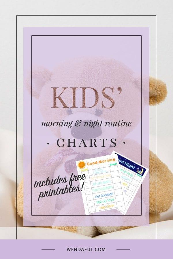 Kids' Routine Charts