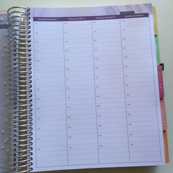 first look  erin condren hourly layout planner  u0026 how to