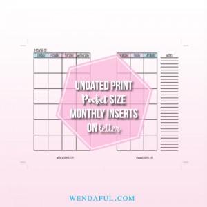 pocket undated print on letter