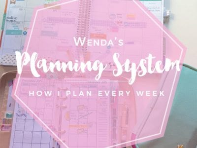 My Planning System: How I Plan in My Planners