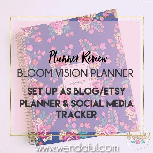 bloom vision planner