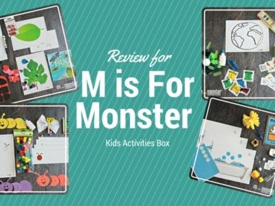 M is for Monster Kids Box Review