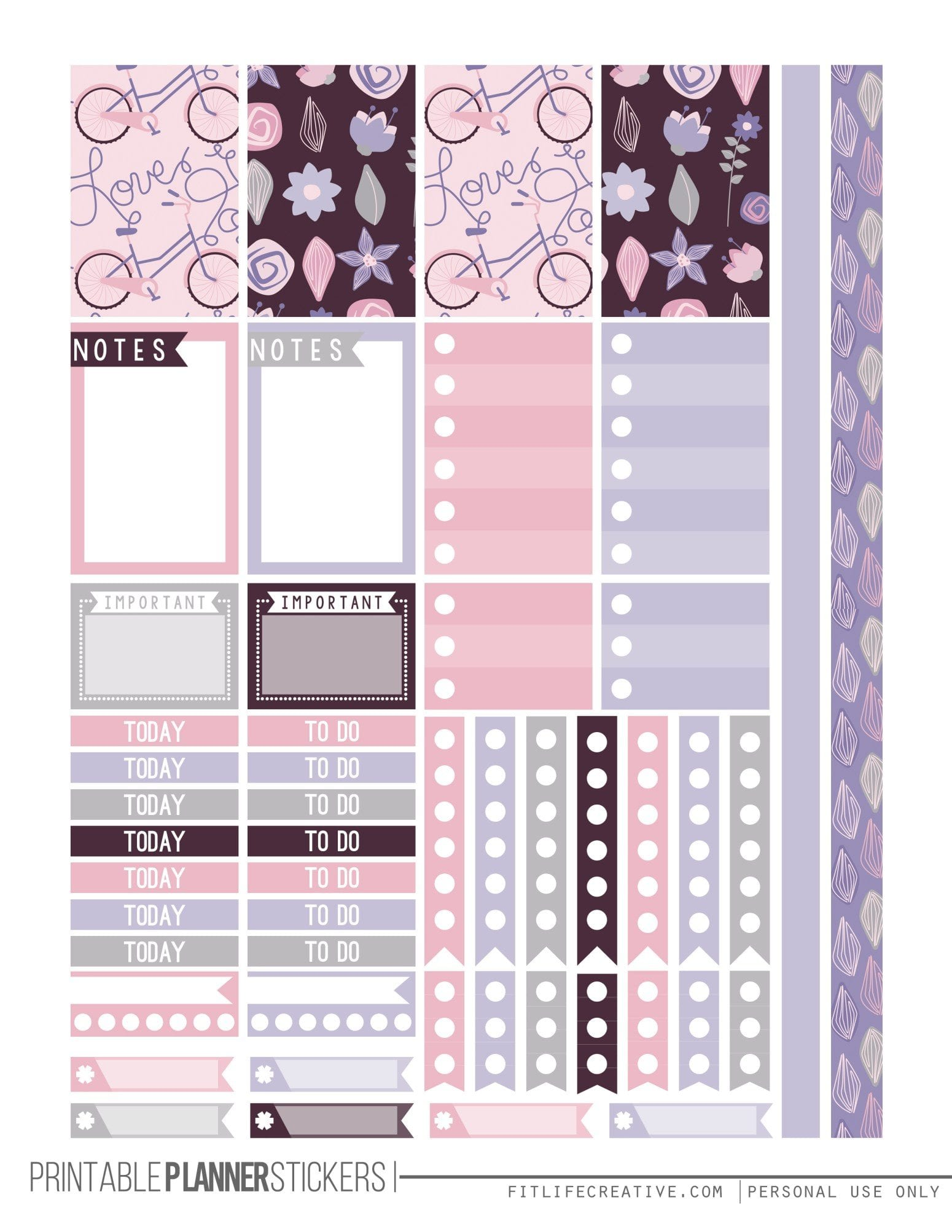 The Ultimate List for Beautiful Free Printable Planner ...