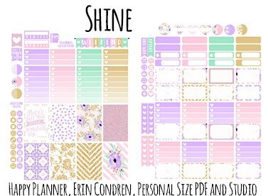The Ultimate List For Beautiful Free Printable Planner Stickers Wendaful Planning