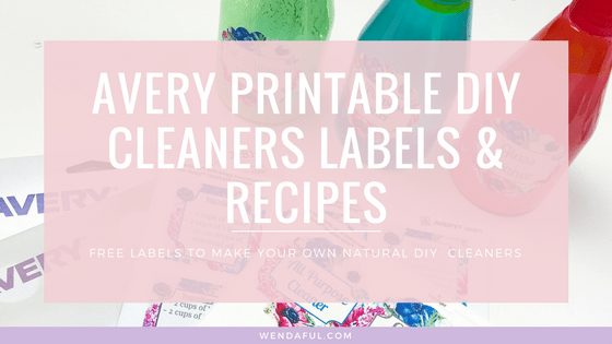 DIY Natural Cleaners Labels & Recipes