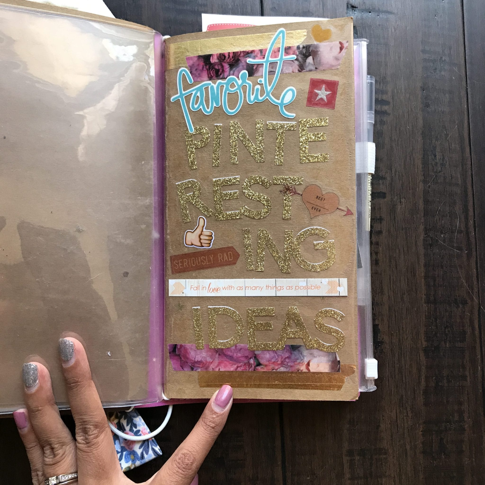 my traveler u0026 39 s notebook journaling setup