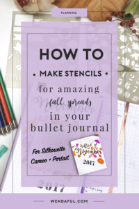 Create Beautiful Fall Spreads in your Bullet Journal