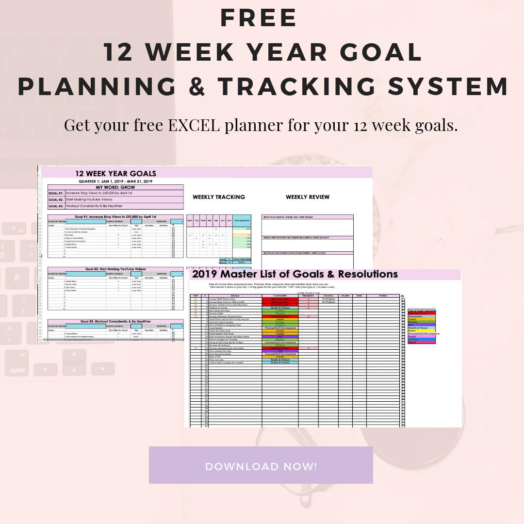 12-week year goals