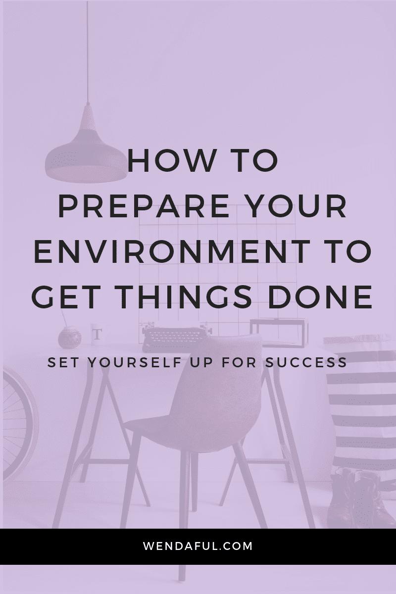 prepare your environment