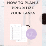 PLAN AND PRIORITIZE