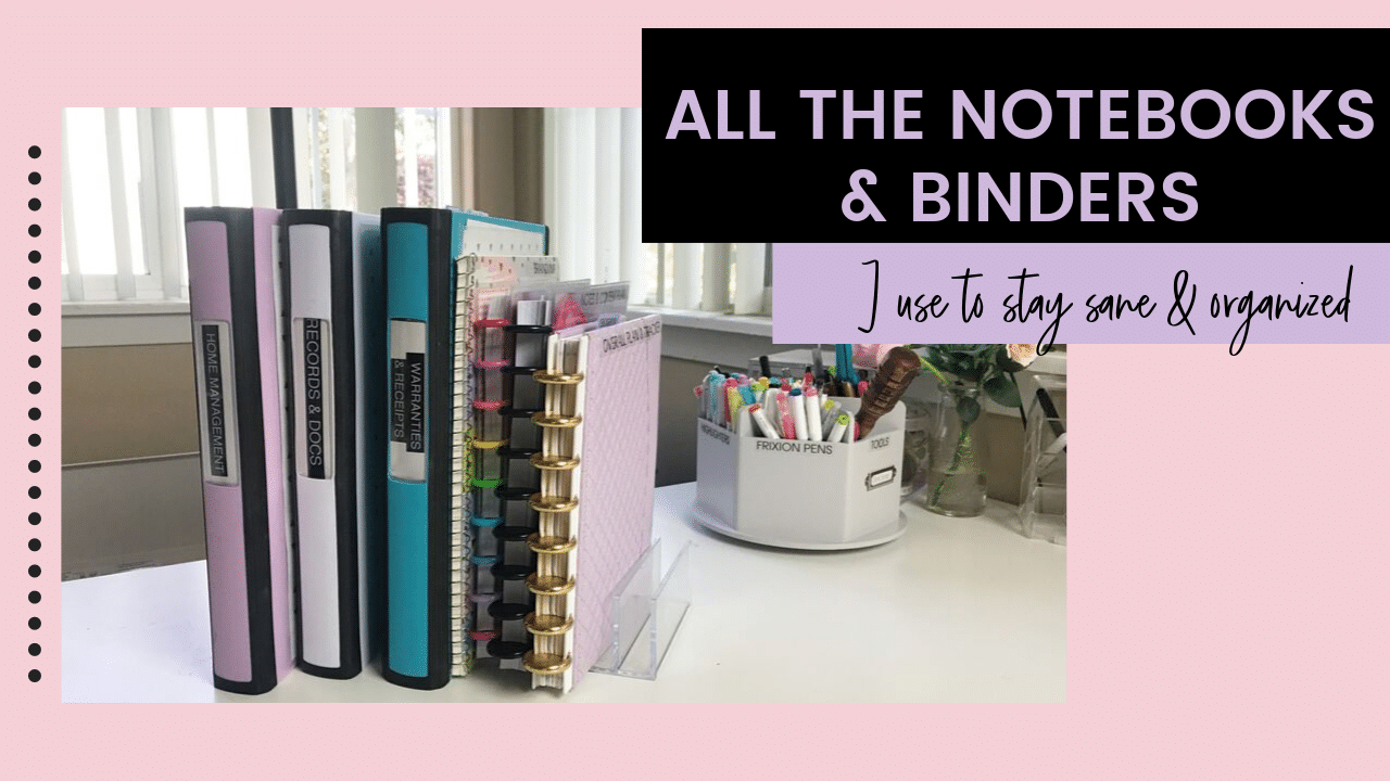 Notebooks and Binders System