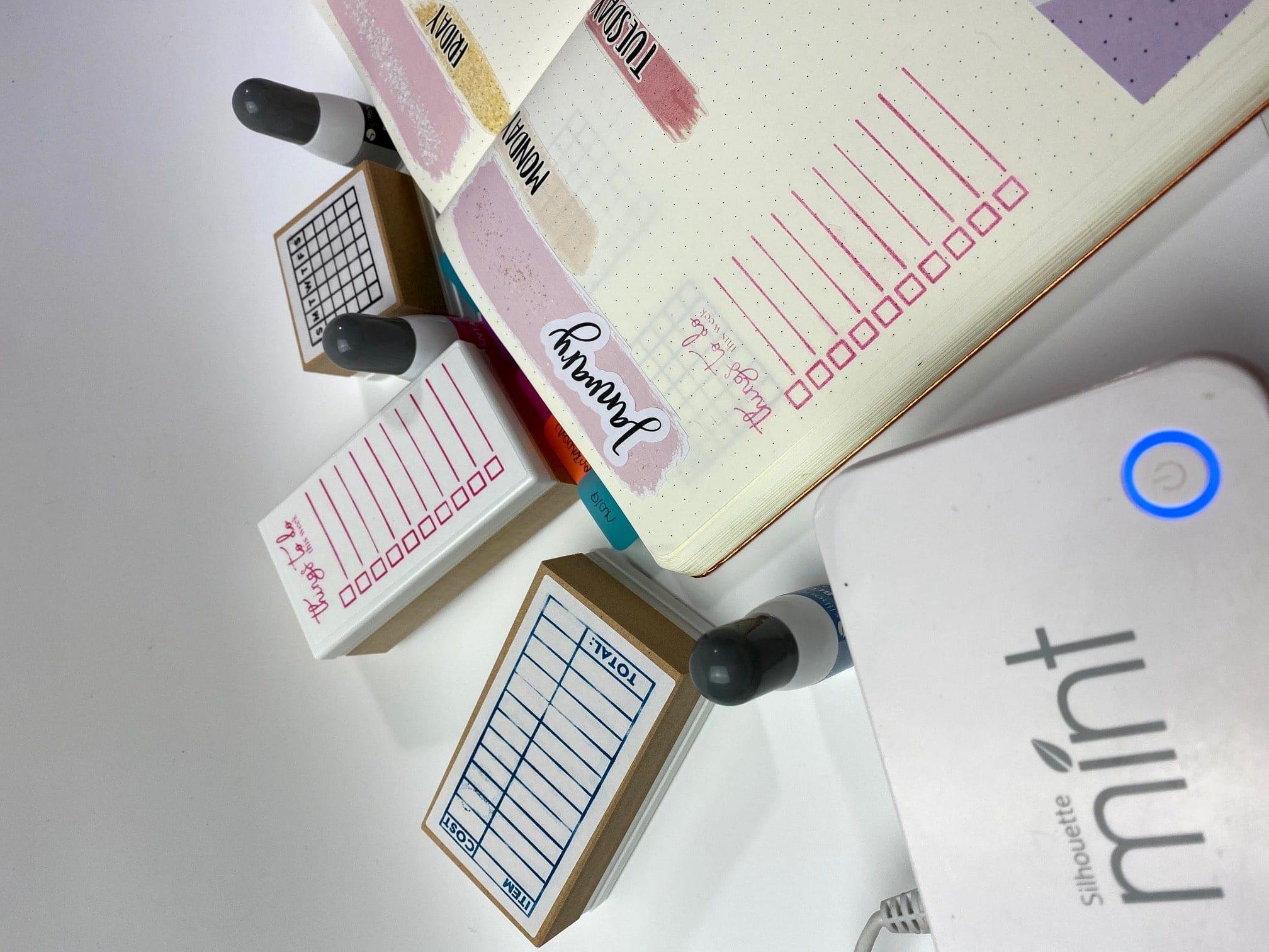 bujo stamps