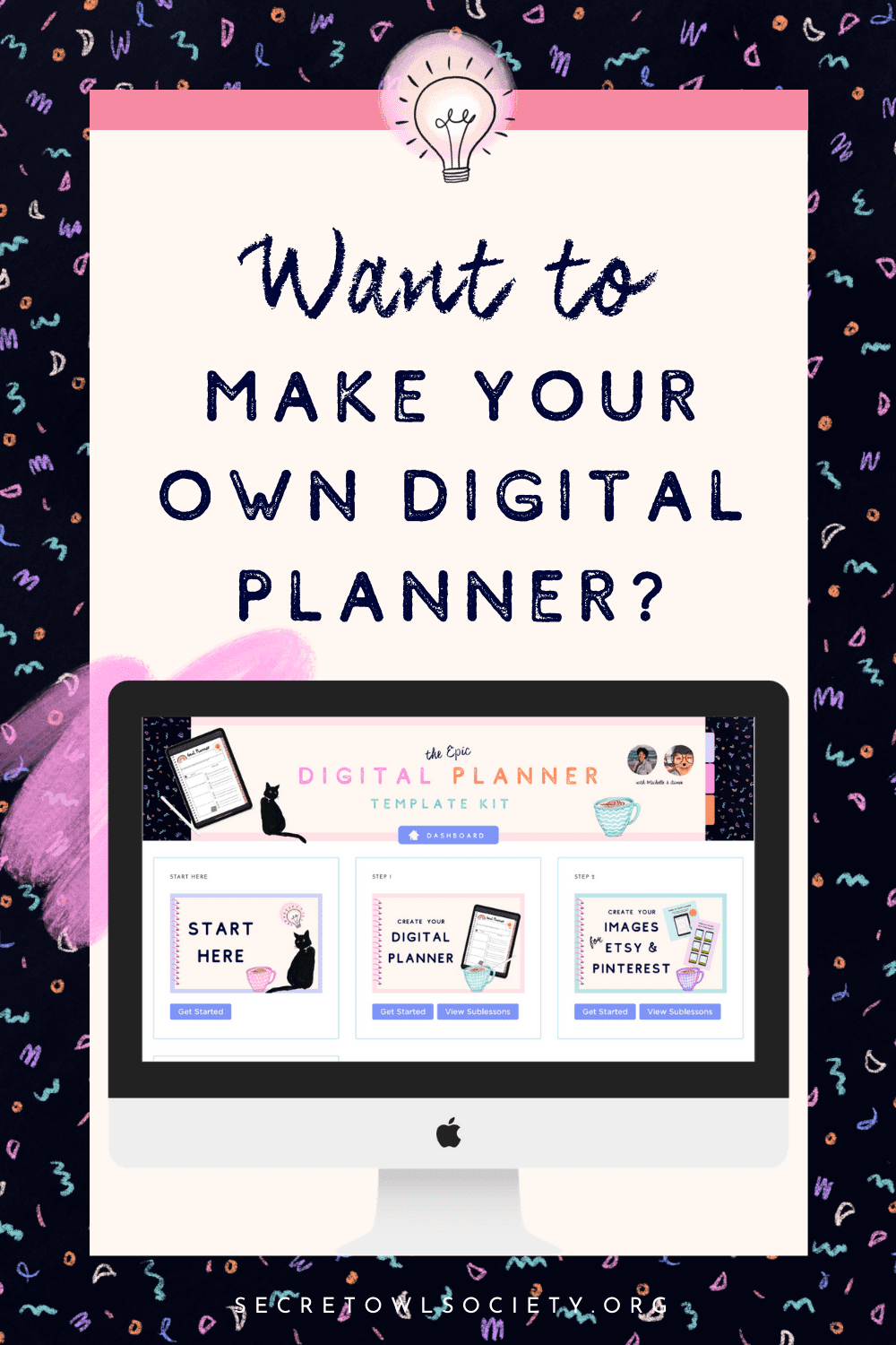 Learn how to make your own Digital Planner