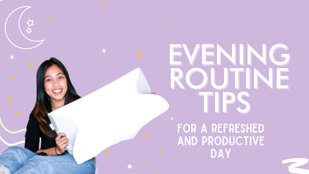 evening routine tips