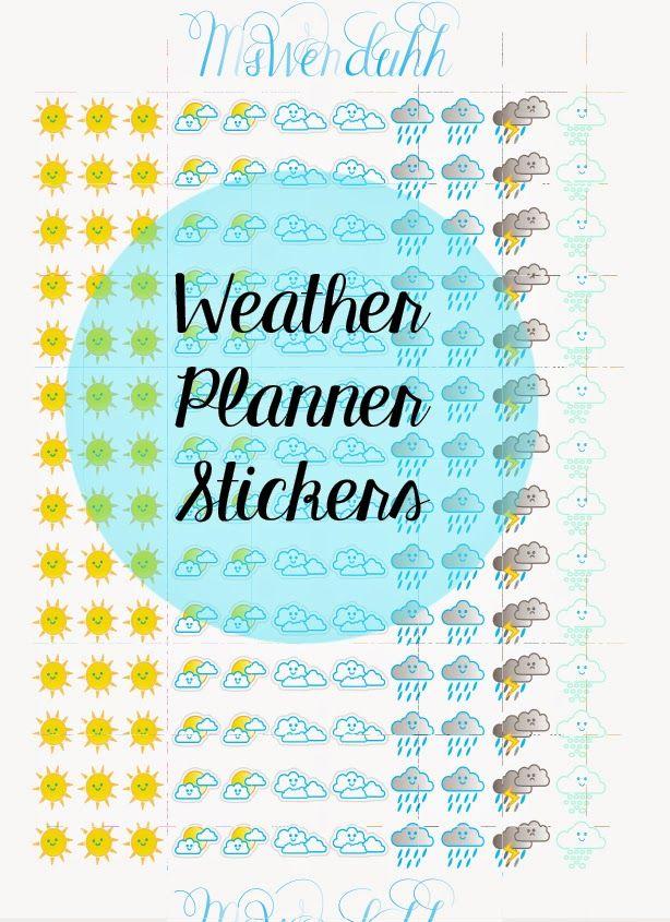 Planner Stickers - Wendaful